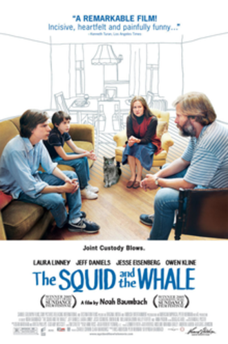 The Squid and the Whale - Theatrical release poster