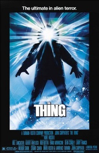 The Thing (1982 film) - Theatrical release poster by Drew Struzan