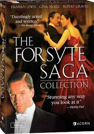The Forsyte Saga (2002 TV series) - DVD cover of The Forsyte Saga Collection