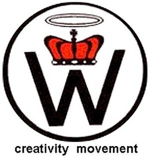 The logo of the Creativity Movement