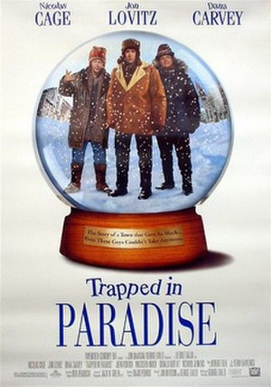 Trapped in Paradise - Image: Trapped in paradise poster