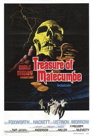 Treasure of Matecumbe - Image: Treasure of Matecumbe poster