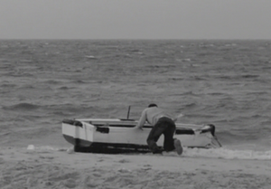 "Linear (film) - The Parisian cop (Taghmaoui) prepares to cross the Mediterranean Sea to get to Tripoli (""Cedars of Lebanon"")."