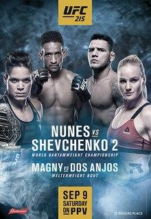 UFC 215 - Wikipedia