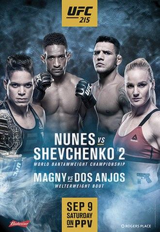 UFC 215 - Image: UFC Johnson Borg