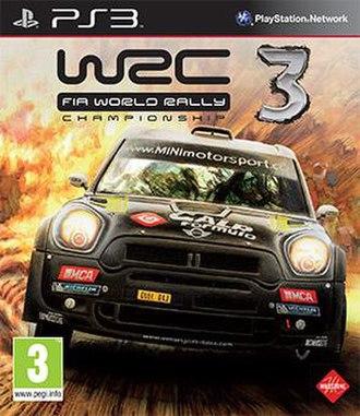WRC 3: FIA World Rally Championship - Image: WRC 3 FIA World Rally Championship Cover