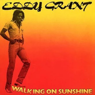 Walking on Sunshine (Eddy Grant album) - Image: Walking on Sunshine alternate