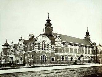 University of East London Stratford Campus - West Ham Technical Institute (November 1898)