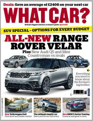 What Car? - What Car? magazine cover, April 2017