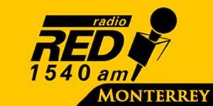 XESTN-AM - Image: XESTN radiored 1540 logo
