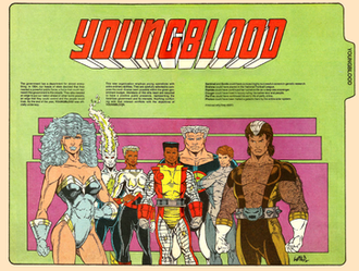Youngblood (comics) - Image: Younglood Megaton Explosion 1