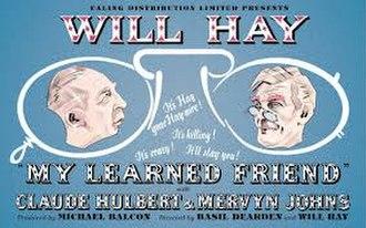 """My Learned Friend - Image: """"My Learned Friend"""" (1943)"""