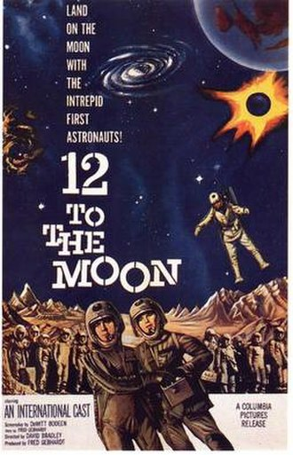 12 to the Moon - Theatrical release poster