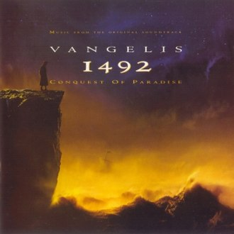 1492: Conquest of Paradise (album) - Image: 1492 Conquest of Paradise