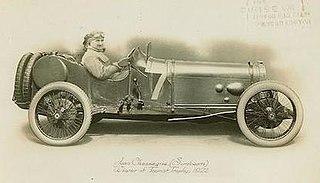 Grand Prix Sunbeams 1921, 1922 TT