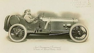 Grand Prix Sunbeams 1921, 1922 TT - The 1922 Tourist Trophy winning Sunbeam