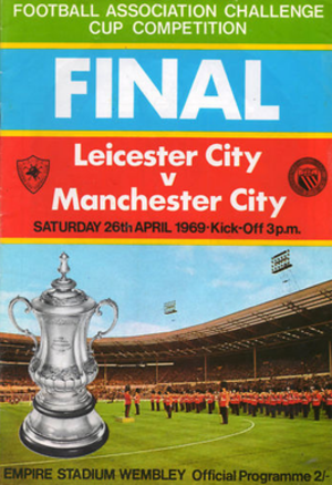 1969 FA Cup Final - Match programme cover