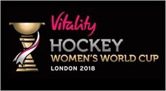 2018 Women's Hockey World Cup - Image: 2018 Hockey Women's World Cup logo