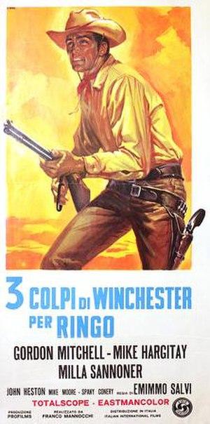3 colpi di Winchester per Ringo - Film poster
