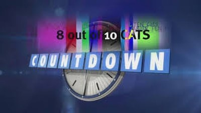 Picture of a TV show: 8 Out Of 10 Cats Does Countdown