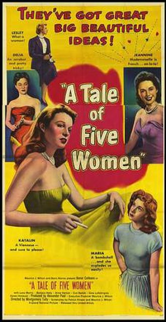 A Tale of Five Cities - Image: A Tale of Five Cities Film Poster