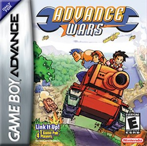 Advance Wars - North American boxart
