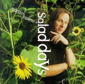 Salad Days (Adrian Belew album) - Image: Album Salad Days Cover