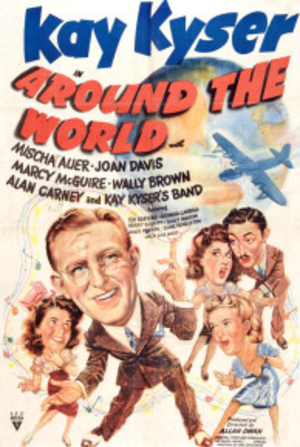 Around the World (1943 film) - Theatrical poster for the film