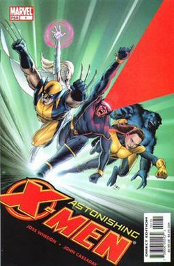 Cover Art For Astonishing X Men 1 By John Cassaday