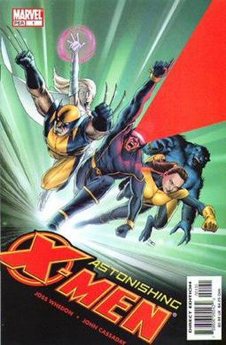 Astonishing X-Men - Image: Astonishing X Men Second Stage