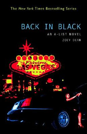 Back in Black (novel) - Image: Backinblackbook
