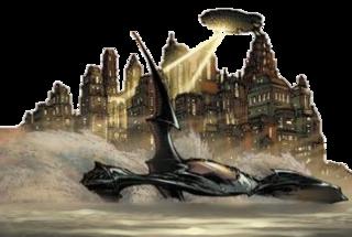 Batboat Fictional comics vehicle