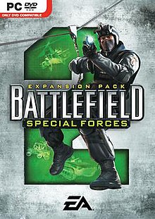 Battlefield 2 Special Forces box cover