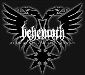 At the Arena ov Aion – Live Apostasy - Image: Behemoth Live Apostasy
