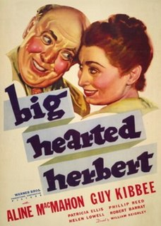<i>Big Hearted Herbert</i> 1934 domestic comedy film