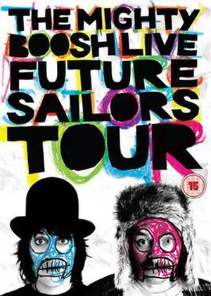 The Mighty Boosh Live: Future Sailors Tour - DVD Cover