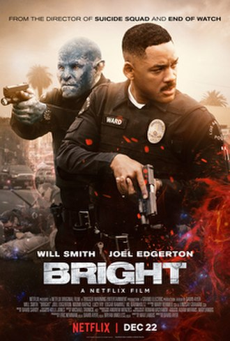 Bright (film) - Film release poster