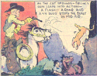 Red Ryder - Fred Harman's Bronc Peeler (November 4, 1934)