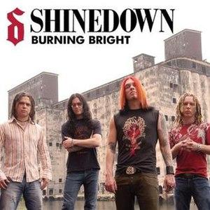 Burning Bright (song) - Image: Burning Bright CD Art