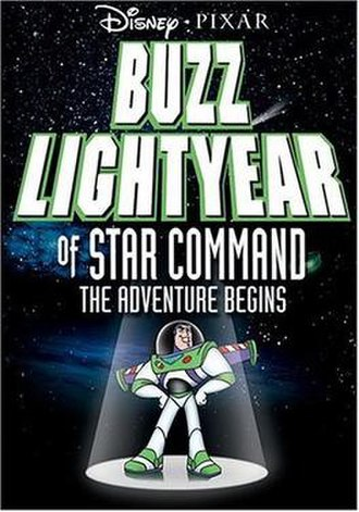 Buzz Lightyear of Star Command: The Adventure Begins - Promotional poster