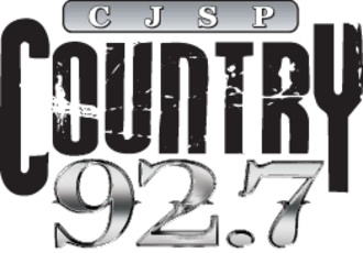 CJSP-FM - Country 92.7 CJSP Logo 2008-2011