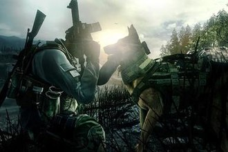 Call of Duty: Ghosts - A playable German Shepherd dog named Riley, who is part of the player's squad.