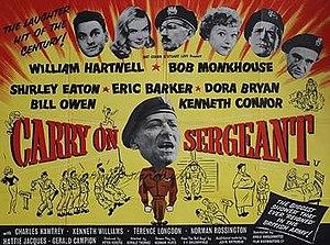 Carry On Sergeant - Original UK quad poster