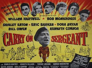 <i>Carry On Sergeant</i> 1958 film by Gerald Thomas