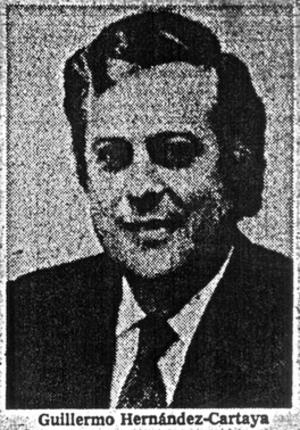 Guillermo Hernández-Cartaya - Image: Cartaya cropped