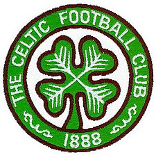 The club crest adopted on the team's football shirts in 1977, based on a badge originating from the 1930s. CelticCrest1977.jpg