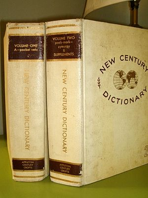 Century Dictionary - Image: Century Dictionary Volumes