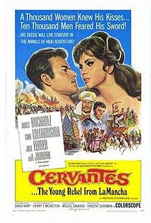 <i>Cervantes</i> (film) 1967 film directed by Vincent Sherman