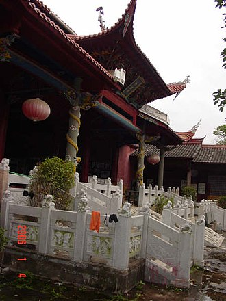 Changting County - Confucius Temple, Town of Tingzhou