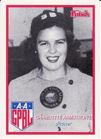 Charlotte Armstrong (baseball) - Image: Charlotte Armstrong